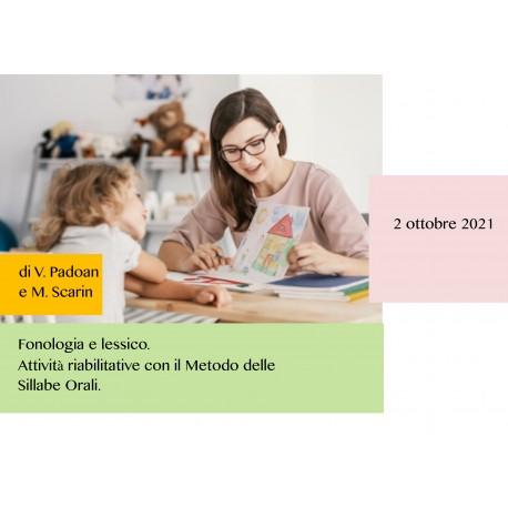 Fonologia e lessico - Corso Online 02.10.21
