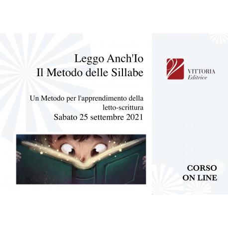 Il Metodo Delle Sillabe Scritte CORSO ON LINE 25/09/21
