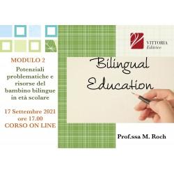 Bilinguismo in età scolare: potenziali problematiche e risorse per gli apprendimenti - Corso Online 17.10.21
