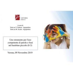 VERONA: 09/11/19 - Uso competente del linguaggio nel bambino piccolo (0-3)