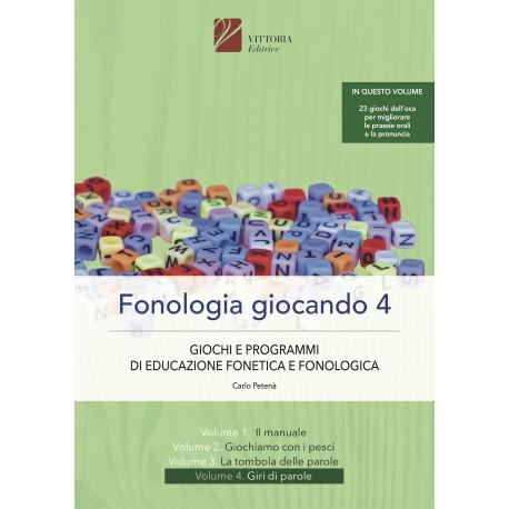 Fonologia giocando vol. 4 isbn 978-88-98719-19-8